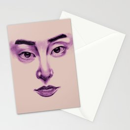 Glassy | Xiumin Stationery Cards