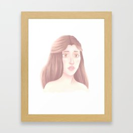 Grey Pearl Framed Art Print