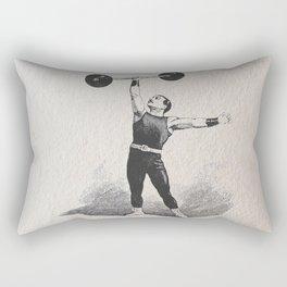Strong man Rectangular Pillow