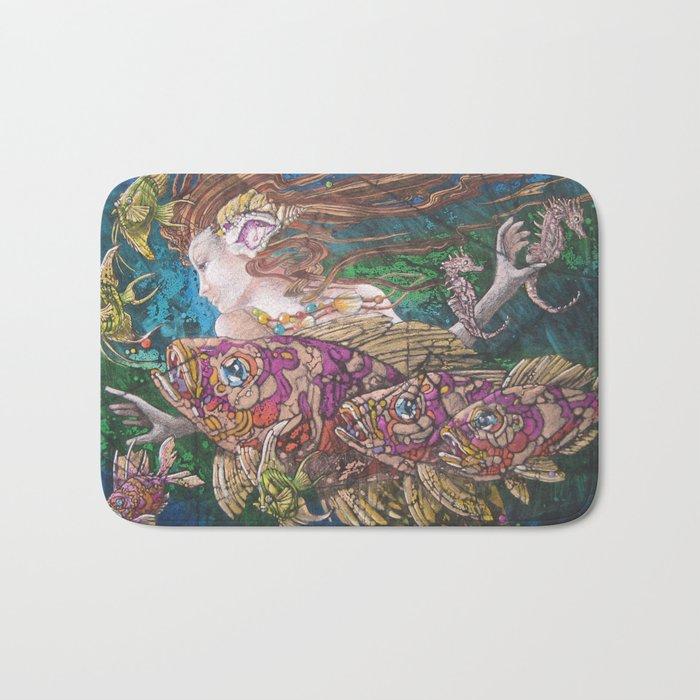 Mermaid's Realm Bath Mat