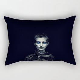 Desert Warrior - Nadja Auermann Rectangular Pillow