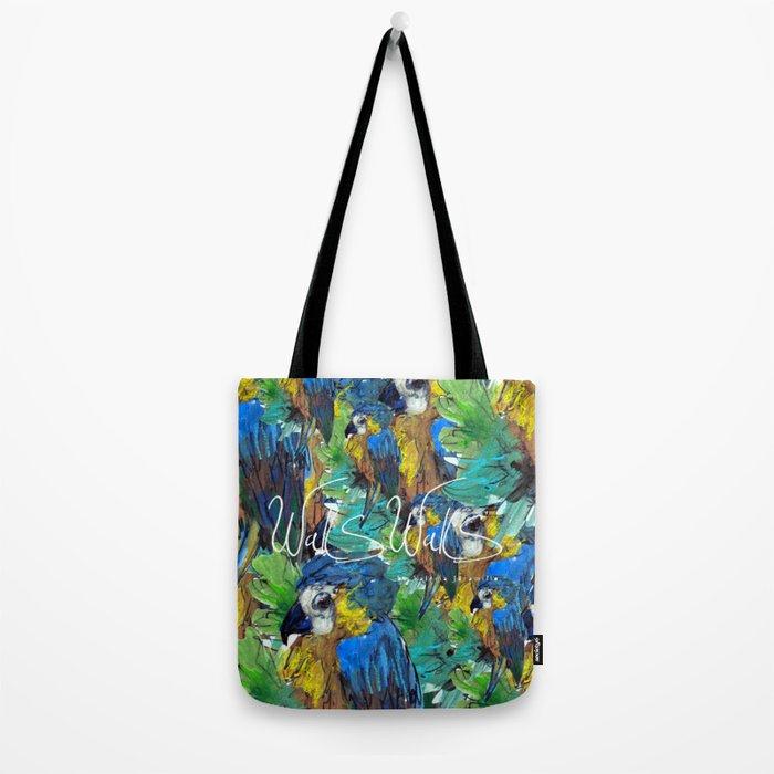 BLUE PARROT Tote Bag