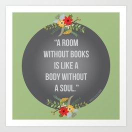 Body without a soul Art Print