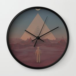 Lost Astronaut Series #01 - Enter the Void Wall Clock