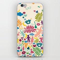 Colorful Paradise iPhone & iPod Skin
