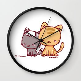 Little Pets Wall Clock