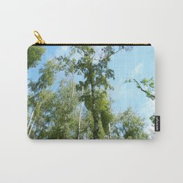 Nature. Blue Sky, Green Trees Carry-All Pouch