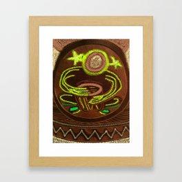 Shamanic Drummer - Healer Framed Art Print