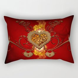 The wonderful hearts Rectangular Pillow