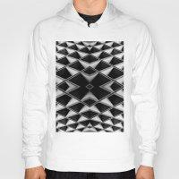 grid Hoodies featuring Grid by blurdvizionz