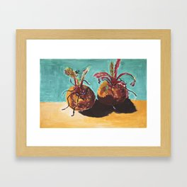 Roots for thought Framed Art Print