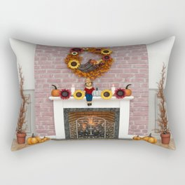 Harvest Hearth Rectangular Pillow