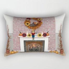 Harvest Hearth Rectangular Pillow