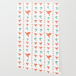 Paper bird Wallpaper