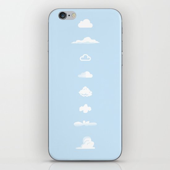 Famous Clouds iPhone Skin