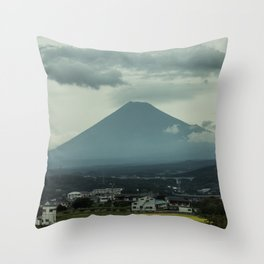 Kids See Ghosts - Mt. Fuji, Japan Throw Pillow