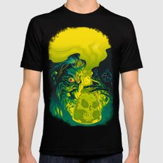 MAD SCIENCE! Black SMALL Mens Fitted Tee