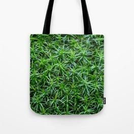 Leaves in the rain Tote Bag