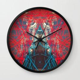 FX#505 - Kryptonian Oblongated Lines Wall Clock