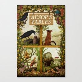 Aesop's Fables Canvas Print