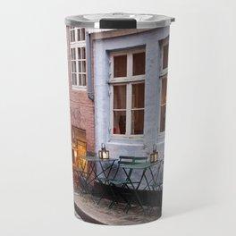 Copenhagen Sidewalk Cafe Travel Mug