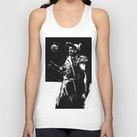 engineer Tank Tops featuring Zampata Engineer by ClayBrooks