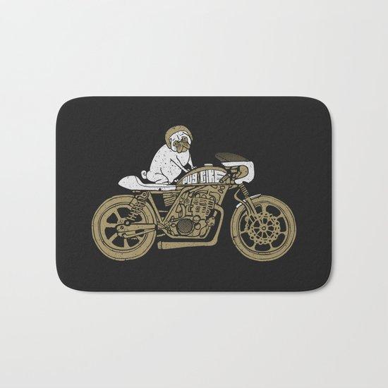 Let's Ride Bath Mat