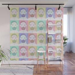 Green Beard Lumberjack Wall Mural