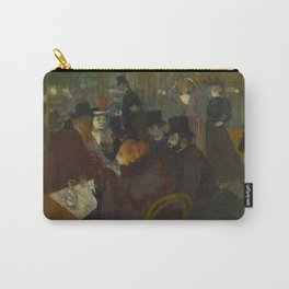 Henri de Toulouse-Lautrec - At the Moullin Rouge Carry-All Pouch