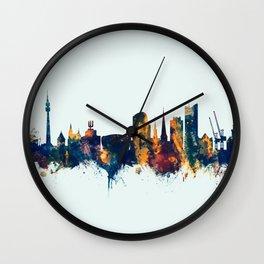 Dortmund Germany Skyline Wall Clock