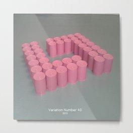Variation Number 40 (photo) Metal Print