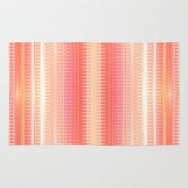 Pattern creamy orange Rug
