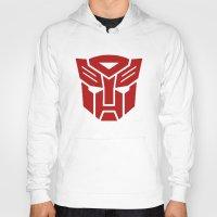 transformers Hoodies featuring Transformers by tshirtsz