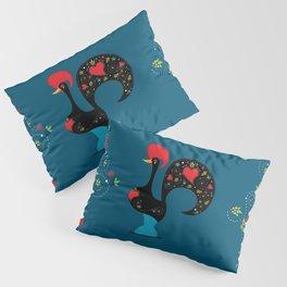 Good Luck Rooster of Barcelos Pillow Sham