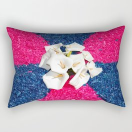 Flower carpets Rectangular Pillow