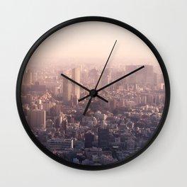 City Infinity Wall Clock