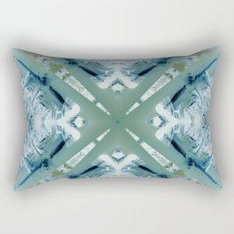 Into the Forest (Green) Rectangular Pillow