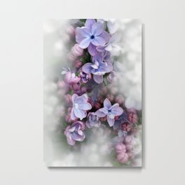 Lilac blooming Metal Print