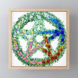 Elemental Flowers Framed Mini Art Print