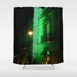 Green Cascade Shower Curtain