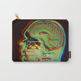 Brain Xray Glitch Art Carry-All Pouch