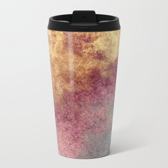 Abstract XIX Metal Travel Mug