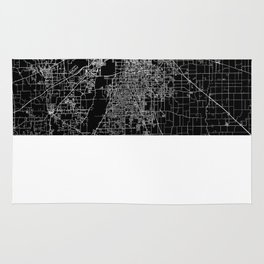 Indianapolis map Rug