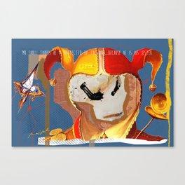 Mr Skull Canvas Print