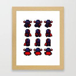 Wandering Knight Sprite. Framed Art Print