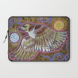 Soaring (Red-Tailed Hawk Painting) Laptop Sleeve
