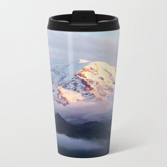 Marvelous Mount Rainier 2 Metal Travel Mug