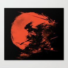 Killer Strokes Canvas Print