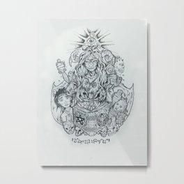 Mangkukulam Metal Print
