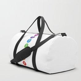 7 Chakra Symbols #01 Duffle Bag